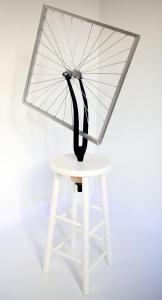 Roue de bicyclette carrée 1. X.Brandeis ©